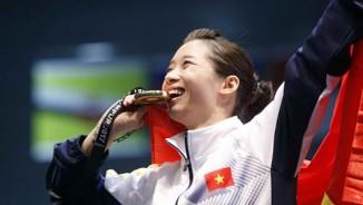 Nữ hoàng wushu Dương Thúy Vi: Ngôi sao may mắn của thể thao Việt Nam
