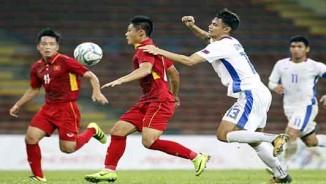 U22 Việt Nam rực sáng, HLV U22 Philippines bỏ họp báo