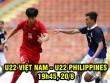 """U22 Việt Nam – U22 Philippines: Công Phượng """"tập bắn"""" đợi đại chiến Indonesia (SEA Games)"""