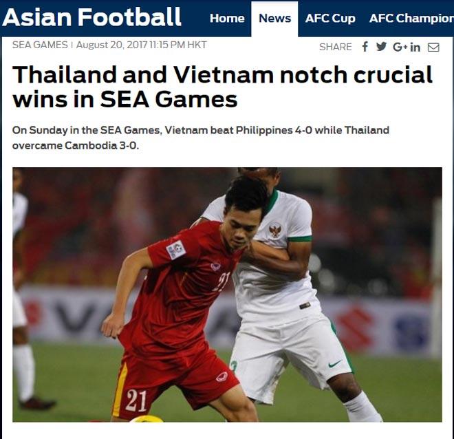 """Báo thế giới gọi U22 Việt Nam là """"độc cô cầu bại"""", """"gầm thét"""" ở SEA Games - 1"""