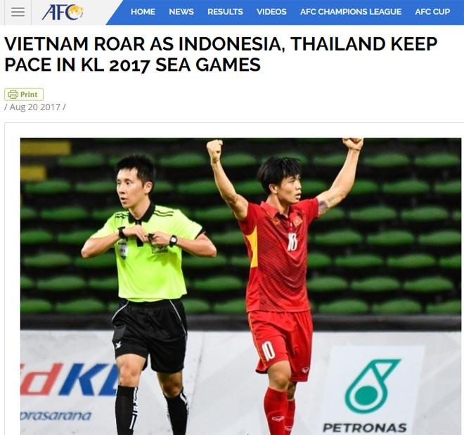 """Báo thế giới gọi U22 Việt Nam là """"độc cô cầu bại"""", """"gầm thét"""" ở SEA Games - 2"""