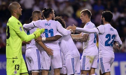 Chi tiết Deportivo - Real Madrid: Hỏng 11m, Ramos thẻ đỏ (KT) - 6