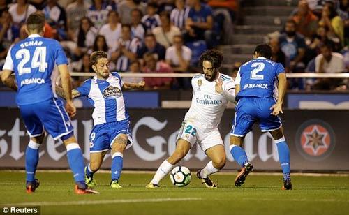 Chi tiết Deportivo - Real Madrid: Hỏng 11m, Ramos thẻ đỏ (KT) - 3