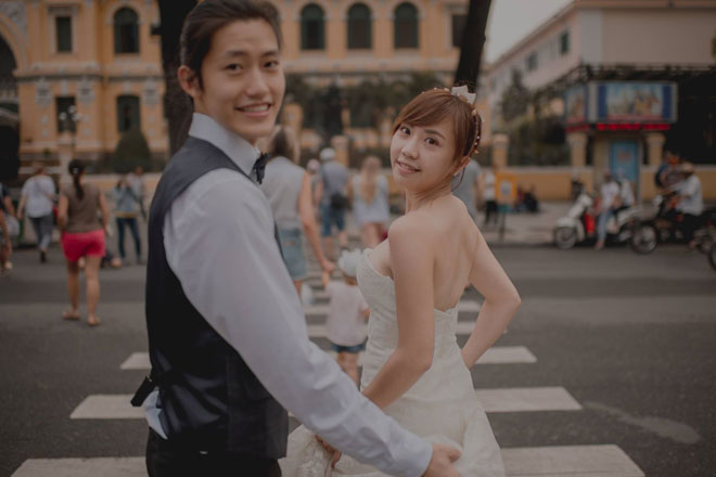 """Cần chi đi đâu xa, ở Việt Nam thôi cũng có được bộ ảnh cưới """"cute lạc lối"""" - 4"""