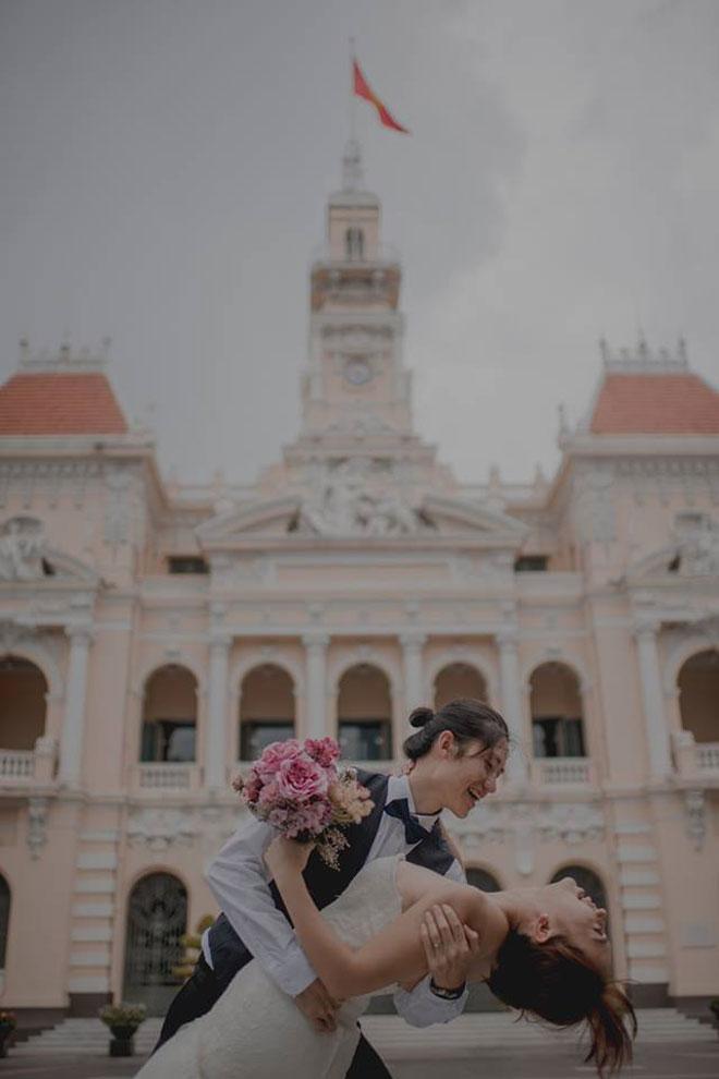 """Cần chi đi đâu xa, ở Việt Nam thôi cũng có được bộ ảnh cưới """"cute lạc lối"""" - 14"""