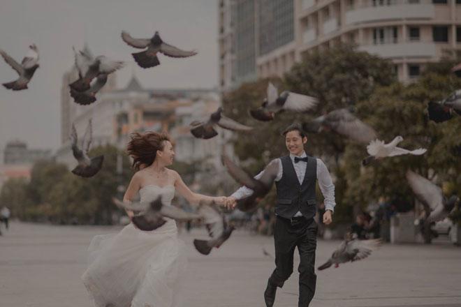"""Cần chi đi đâu xa, ở Việt Nam thôi cũng có được bộ ảnh cưới """"cute lạc lối"""" - 2"""