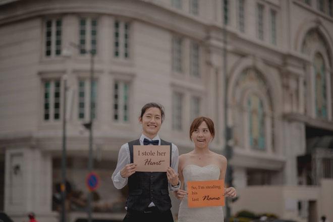 """Cần chi đi đâu xa, ở Việt Nam thôi cũng có được bộ ảnh cưới """"cute lạc lối"""" - 1"""