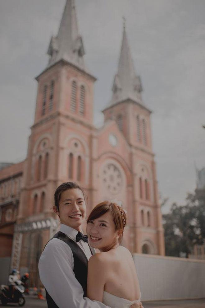 """Cần chi đi đâu xa, ở Việt Nam thôi cũng có được bộ ảnh cưới """"cute lạc lối"""" - 9"""