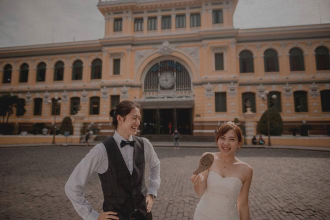 """Cần chi đi đâu xa, ở Việt Nam thôi cũng có được bộ ảnh cưới """"cute lạc lối"""" - 11"""