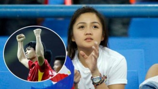 CĐV nữ xinh Philippines ngẩn ngơ vì siêu phẩm Công Phượng