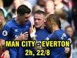 """Nhận định bóng đá Man City – Everton: """"Ác mộng"""" Rooney tái hiện? (Vòng 2 Ngoại hạng Anh)"""