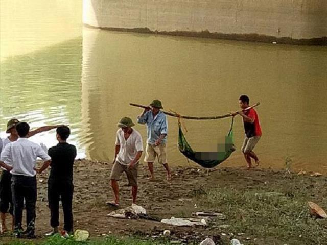 HN: Nam thanh niên chết bất thường trên sông, mặt dính đầy bùn đất