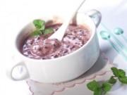 Tự làm sữa chua nếp cẩm chiêu đã cả nhà