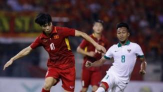 HLV U22 Indonesia hạnh phúc vì cầm hòa được U22 Việt Nam
