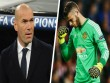 Chuyển nhượng Real 22/8: Zidane nói không với De Gea