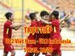 TRỰC TIẾP bóng đá U22 Việt Nam - U22 Indonesia: Đón Xuân Trường, quyết vào bán kết