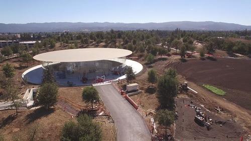 Chiêm ngưỡng trụ sở mới hình phi thuyền siêu đẹp của Apple - 3