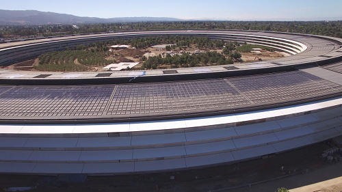 Chiêm ngưỡng trụ sở mới hình phi thuyền siêu đẹp của Apple - 5