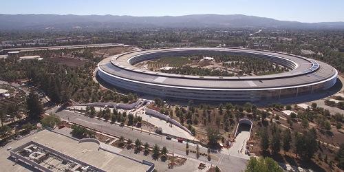Chiêm ngưỡng trụ sở mới hình phi thuyền siêu đẹp của Apple - 1