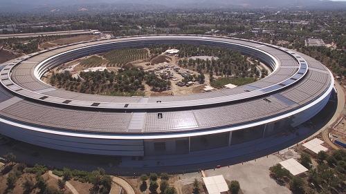 Chiêm ngưỡng trụ sở mới hình phi thuyền siêu đẹp của Apple - 9