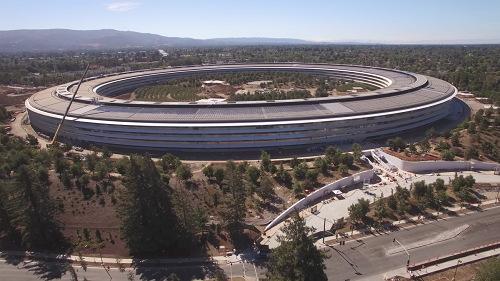 Chiêm ngưỡng trụ sở mới hình phi thuyền siêu đẹp của Apple - 12