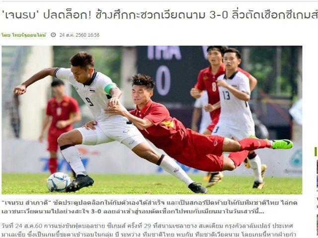 U22 Việt Nam thua thảm: Báo Thái hả hê, SEA Games rúng động