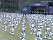 Hơn 1.000 robot lập kỉ lục thế giới vì nhảy đồng diễn