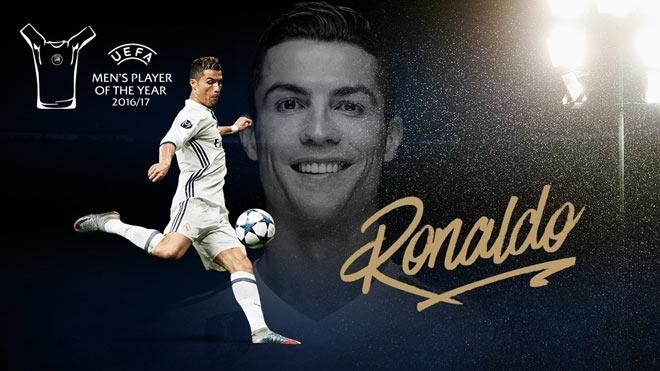 Ronaldo – Cầu thủ hay nhất UEFA !