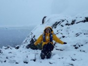 Hành trình chinh phục châu Nam Cực của cô gái Việt