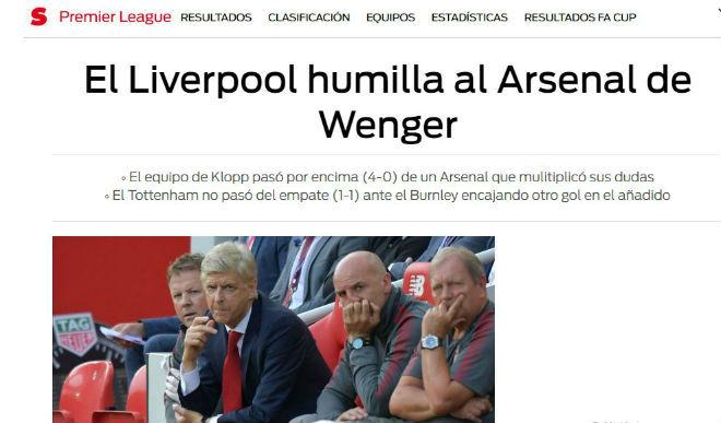 "Arsenal thảm bại Liverpool: 4 SAO bị nghi ""phản"" Wenger - 7"