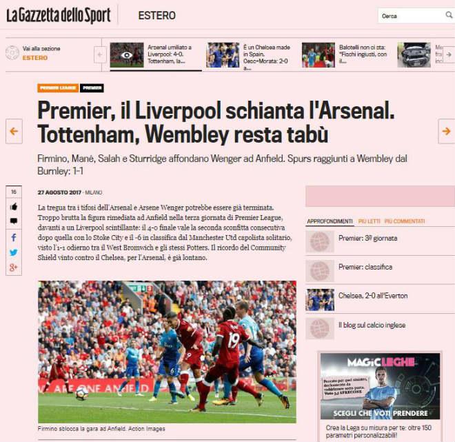 "Arsenal thảm bại Liverpool: 4 SAO bị nghi ""phản"" Wenger - 6"