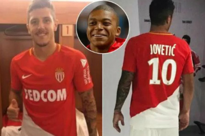 Monaco mua Jovetic, Mbappe sắp đến PSG 180 triệu euro - 1