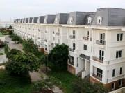 Cận cảnh khu biệt thự bỏ hoang cỏ mọc um tùm ở Hà Nội