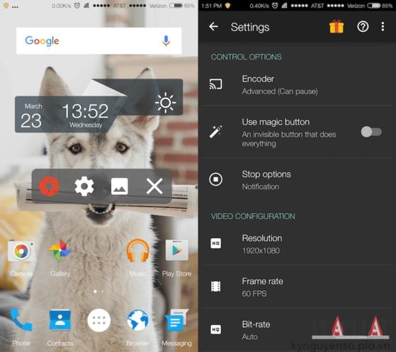 Mẹo quay phim màn hình trên Android và iOS - 1