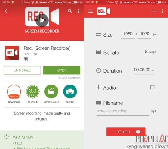 Mẹo quay phim màn hình trên Android và iOS - 2