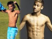 Neymar: Từ gầy trơ xương sườn tới mỹ nam cường tráng