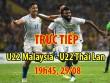 Chi tiết U22 Malaysia - U22 Thái Lan: Lực bất tòng tâm (KT)