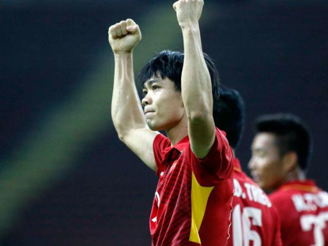 """Công Phượng sánh vai """"Ronaldo Myanmar"""" vua phá lưới SEA Games"""