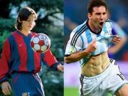 """Làm đẹp - Messi: Chàng còi tưởng chỉ cao 1m4 thành cầu thủ 1m7, cơ bắp """"hoành tráng"""""""