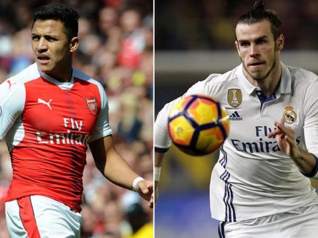 """Chuyển nhượng """"bom tấn"""" Sanchez: Real ra đòn sốc, MU """"vồ"""" Bale"""