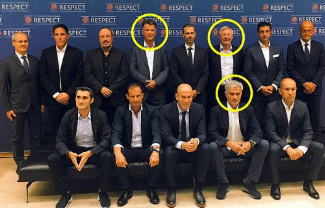 """Tin HOT bóng đá sáng 31/8: Mourinho và dàn siêu HLV """"họp thượng đỉnh"""" - 1"""