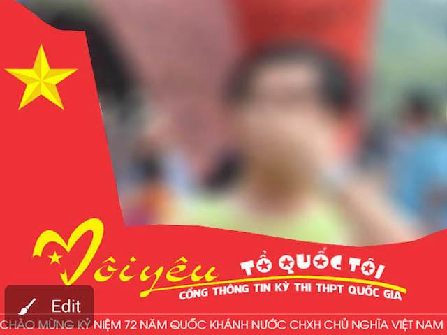 3 bước đổi ảnh đại diện Facebook chào mừng Quốc khánh 2/9