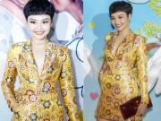 Ngỡ ngàng vì gương mặt khác lạ của Miu Lê khi dự sự kiện