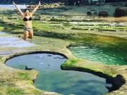 Du lịch - Khoái chí đùa nghịch tại hồ bơi hình số 8 có một không hai