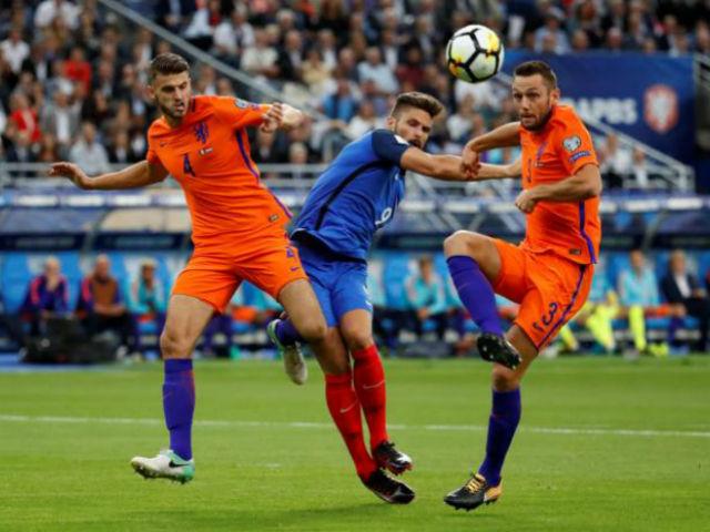 Pháp - Hà Lan: Song tấu 260 triệu bảng kết liễu (vòng loại World Cup 2018)