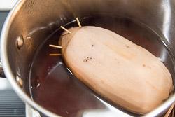 Ngó sen nhồi gạo nếp mật ong thơm ngọt cho mâm cơm dịp lễ Vu Lan - 11