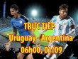 Chi tiết Uruguay - Argentina: Suarez đau đớn, Messi bị rách áo (KT)