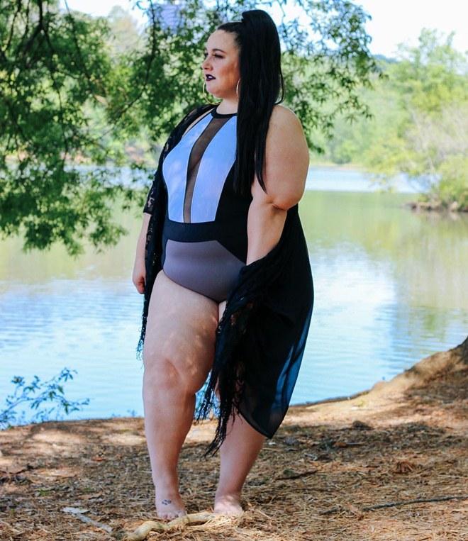 """Nàng béo ngoại cỡ chuyên mặc bikini """"chất chơi"""" nhất quả đất - 8"""