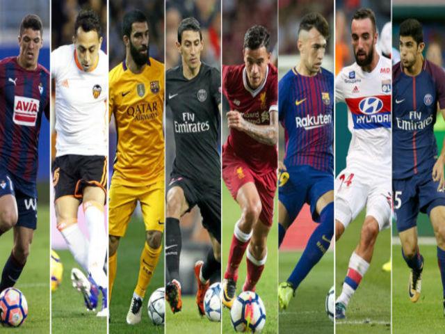 Chuyển nhượng La Liga nửa tỷ euro: Real ảm đạm, Barca cay đắng