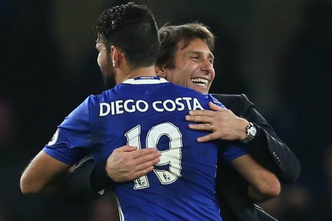"""Chelsea: Conte - Costa """"yêu lại từ đầu"""", Ngoại hạng Anh run sợ - 1"""